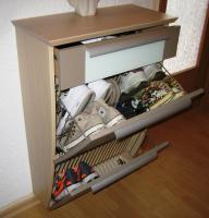 Foto 2 Schuhschrank mit passendem Spiegel und Garderobe