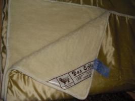 Schurwolle Decken