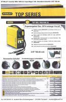 Schutzgas MIG Inverter STANLEY 1400  Series Dez. 2014