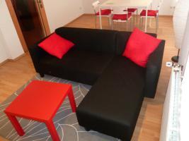 Schwarz Sofa