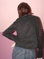 Foto 2 Schwarze Bluse Gr. 42, VERSANDKOSTENFREI!!!