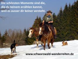 Foto 12 Schwarzwald-Wanderreiten, Reitferien in Todtmoos Au