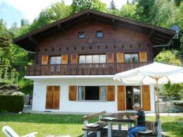 Schweiz-Wallis : Gemütliches, sehr gepflegtes Chalet in herrlicher Lage