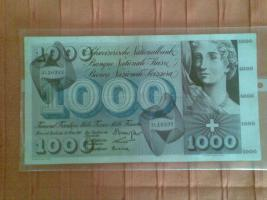 Foto 2 Schweizer Franken Geldschein