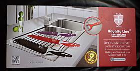 Schweizer Messerset Royality Line: Fleischmesser Santoku Messer Universalmesser NEU & OVP