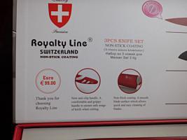 Foto 4 Schweizer Messerset Royality Line: Fleischmesser Santoku Messer Universalmesser NEU & OVP
