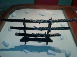 Foto 3 Schwerter Dekor, Musketen Dekor, Taschen, Laptptaschen, Kinderspielsachen