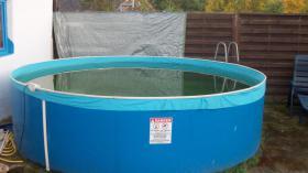 Schwimmbecken 3,60 x 0,90 mit Zubehör