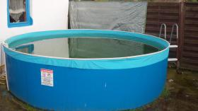 Foto 2 Schwimmbecken 3,60 x 0,90 mit Zubehör