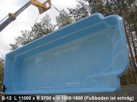 Foto 2 Schwimmbecken aus Polyester - Bestes Angebot