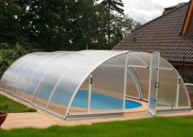 Schwimmbecken Überdachung Klasik A