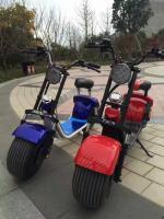Foto 2 Scooter Harley Elektro Roller 1000w 60v Akku Batterie Coco City