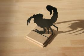 Scorpion Figur Dekoration Acrylglas