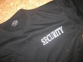 Foto 2 Security T Shirt von Obramo Security Shop - EMPFEHLUNG Bewertung   . VFSDS Secuirty Verband Testsiegel gut erteilt