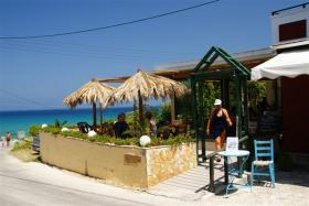Seeaussicht Snack Bar zum Vermieten im Zakynthos/ Griechenland