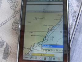 Seenavigationssoftware Mittelmeer, Türkei, Griechenland usw.