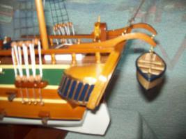 Foto 2 Segelschiff aus Edel Holz