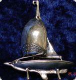 Segelschiff - Silber