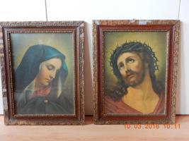 Sehr alte Heiligenbilder