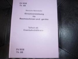 Foto 4 Sehr alte Vorschriften Deutsche Reichsbahn abzugeben