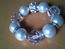 Sehr eleganter, perlen Armband, Neu