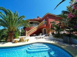 Sehr gepflegte Villa in Denia an der Costa Blanca