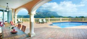 Sehr geräumige Villa mit Panoramablick in Denia an der Costa Blanca