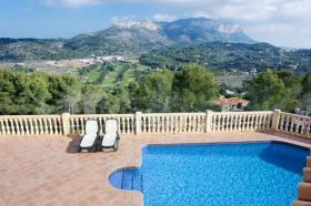Foto 3 Sehr geräumige Villa mit Panoramablick in Denia an der Costa Blanca