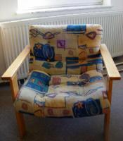 Foto 7 Sehr gut erhaltene Eckcouch (mit Schlaffunktion) + Sessel