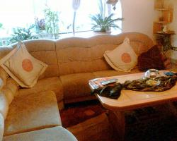 Foto 2 Sehr gut erhaltene Microvelours Eckcouch /-sofa
