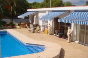 Sehr gut erhaltene Villa in Albir an der Costa Blanca