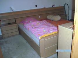 Sehr gut erhaltenes, helles Massivholzdoppelbett zu Verkaufen(200x200)