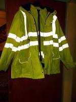 Sehr gute Allwetter- Arbeitsjacke+Weste mit  Kapuze