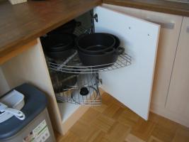 Foto 5 Sehr neuwertige Küche mit Kühlschrank und Miniofen!!!