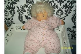 °°Sehr schöne Liebhaber Puppe mit Echtem Schaaf Haar!!°°