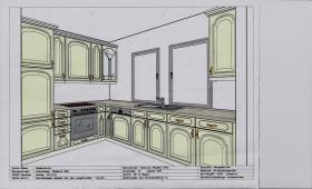 Sehr schöne und gut erhaltene Winkel Küche zu verkaufen.