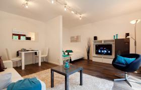 Sehr schöne möblierte 1.0-Zimmer Wohnung , hochwertig, moderner