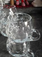 Foto 2 Sehr schönes Bowle-Services aus Glas