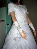 Foto 4 Sehr schönes Brautkleid weiß Gr.36/38.- Neu!