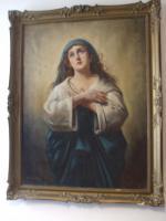 Sehr schönes Madonna Ölgemälde 73 x 98,5 cm