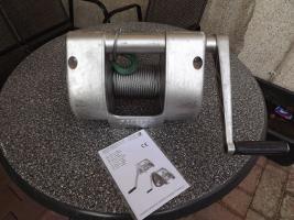 Foto 2 Seilwinde von Pfaff in Vollaluminium mit Bremse, PKW, LKW, Autotransport, Boot, Trailer