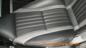 Seitenairbag rechts und Ledersitzbezug für Alfa Spider 939 ab Bj. 2007