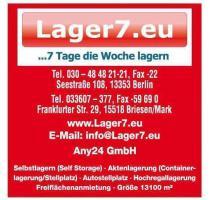 ... Foto 2 Self Storage Berlin, Möbellagerung Berlin, Halle Berlin,  Einlagern Berlin, Autostellplatz ...