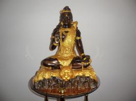 -Seltenheit _Antik__Buddha__Aus einer Sammlung__Blattgold