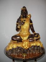 Foto 4 -Seltenheit _Antik__Buddha__Aus einer Sammlung__Blattgold