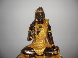 Foto 2 -Seltenheit _Antik__Buddha__Aus einer Sammlung__Blattgold