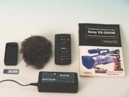 Foto 4 Semiproffesioneller Camcorder Sony VX-2000E