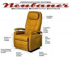 seniorensessel der gesundheitssessel f r die wirbels ule. Black Bedroom Furniture Sets. Home Design Ideas