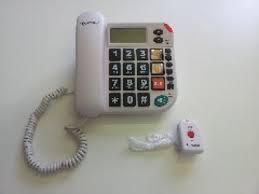 Seniorentelefon mit Funknotruf (ohne mtl. Kosten)