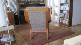 Foto 3 Sessel mit Fußhocker